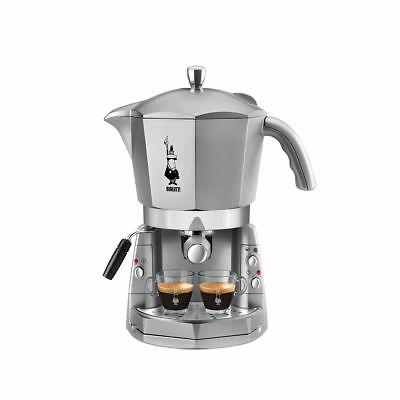 Bialetti Mokona Silver CF40 machine à café mival 20 bar trivalent