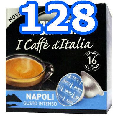 128 Capsules en aluminium Bialetti Mokespresso NAPOLI - Mokona Tazzona