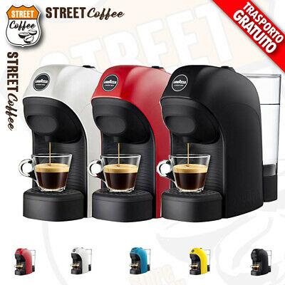 LAVAZZA TINY Une machine à café Modo Mio Rouge / Blanc / Noir / Cyan / Jaune