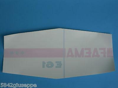 Autocollant adhésif Faema pour machines à café Faema E61 3 groupes *