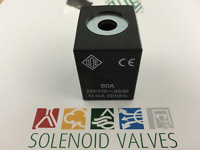 Bobine magnétique Ode 220 / 230Vac 50 / 60Hz Bda 8W