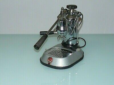 MACHINE A CAFE VINTAGE La Pavoni premier 1er modèle V.1.5 68/70 numéro d'enregistrement A8062