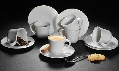 Alessi Ku 2 4 6 Coffret Céramiques À Café Et Café En Porcelaine Et Soucoupe