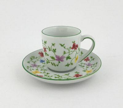 A201 / sweetrose Tasse à café avec soucoupe Arzberg Sweet Rose - table - porcelaine