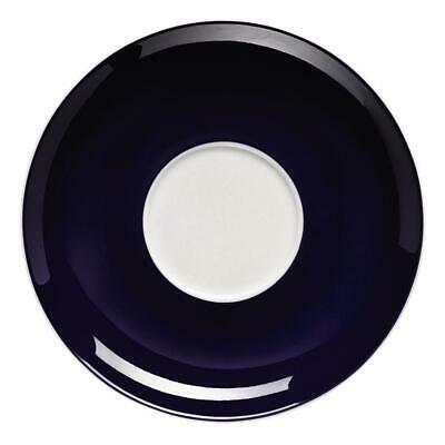 Thomas Sunny Day Soucoupe Coupe Cappuccino En Porcelaine Bleu Cobalt 16,5 cm