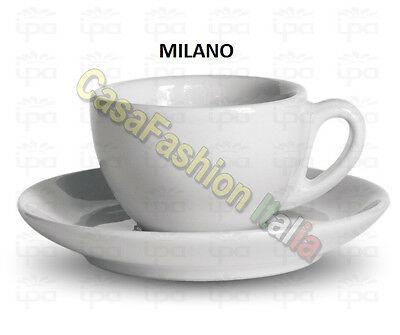 Tasse à déjeuner Milano 12-Pz E / O soucoupe Ipa Horeca Porcelaine Horeca