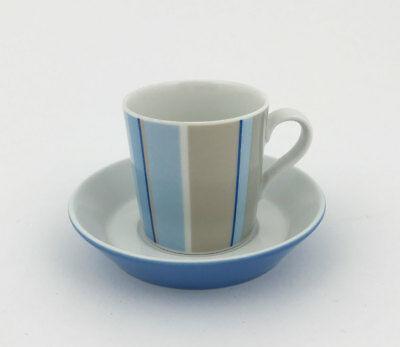 A202 / Tasse à café avec soucoupe Arzberg Tric Cottage - porcelaine