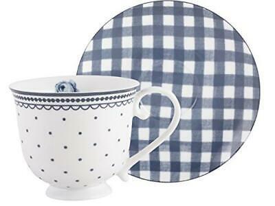(TG. 8.500 x 15.000 x 15.000 cm) Katie Alice, Spot, tasse et soucoupe vintage