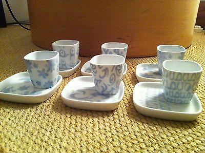 COVO FUSION PARADE 6 tasses à café / 6 tasses en porcelaine