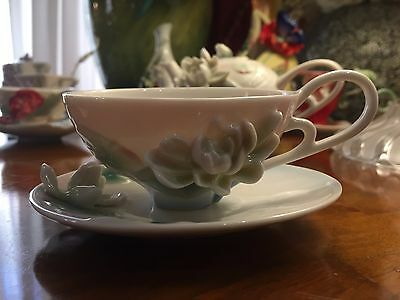 Franz Collection Tasse à nénuphar en porcelaine et porcelaine FZ00774