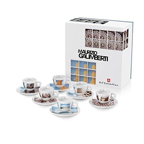 Illy Art Collection, Maurizio Galimberti, set de 6 tasses à café
