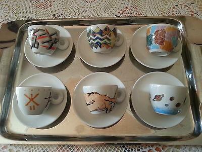 Tasses à café collection ILLY 1992