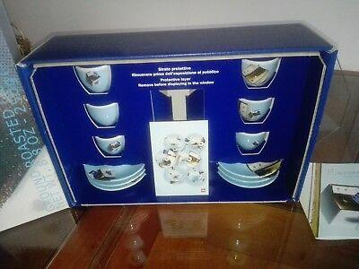 Ensemble de tasses à café publicitaire de la collection Illy Trieste Norma J.