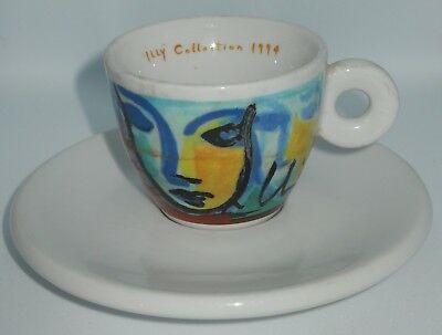 "Tasse à café Illy originale ""Italian Faces"", série Sandro Chia 1994"
