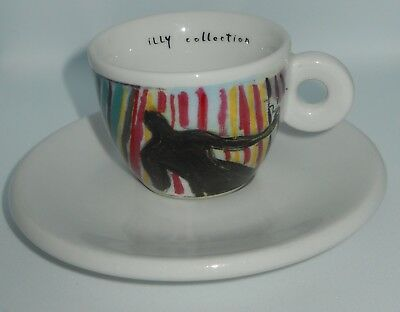 "Tasse à café originale ""Illy"" série Il Caffe Del Caffe & Sandro Chia 1997 Nb."