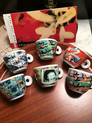Vidéogrammes 1996 de la collection Illy de Nam June Paik, 6 tasses à café