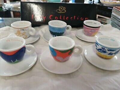 "Illy cups ""Première Collection"" signé Simone Meentzen Tazzine Caffe 1994"