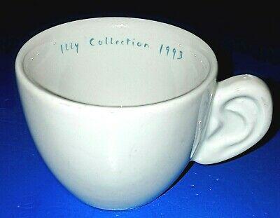 """Très rare tasse à café """"Illy"""" avec oreille série """"Créativité ..."""" 1993"""