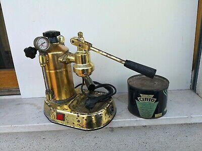 Machine à café La Pavoni Machine à café Europiccola Gaggia Faema Gold Old Series