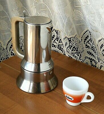 Alessi Cafetière 9090/6 6 Coupes Compas d'or R. Sapeur Moma New York