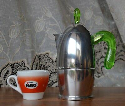 GUZZINI CAFE MAKER ZAZA 3 TASSES NOUVEL ORIGINAL SANS RÉPLIQUE 19,5 cm
