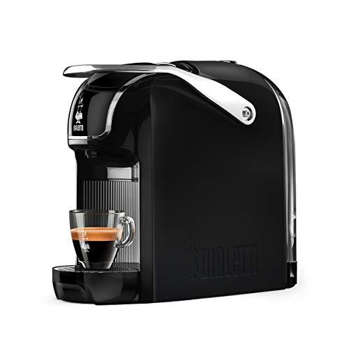 Machine à café expresso Bialetti (super compacte) pour capsules en aluminium Système Bialetti le Caffè d'Italia, Noir