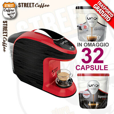 Machine à café HotPoint Ariston Kimbo Illy Système Uno avec système Hommage