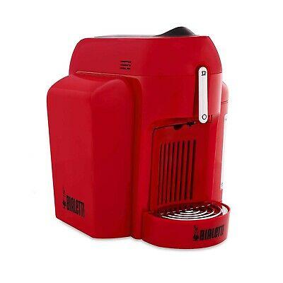 Bialetti Espresso Coffee Capsule 1 Coupe Express Mini CF62 de couleur rouge