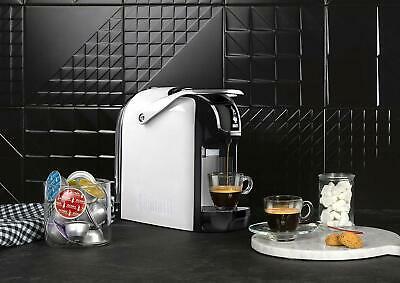 Bialetti Break Espresso Machine Monosystem Capsule Solo 1200W Blanc