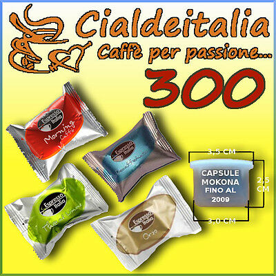 300 capsules de café ESPRESSO ITALIA / GIMOKA - également pour MOKONA et TAZZONA