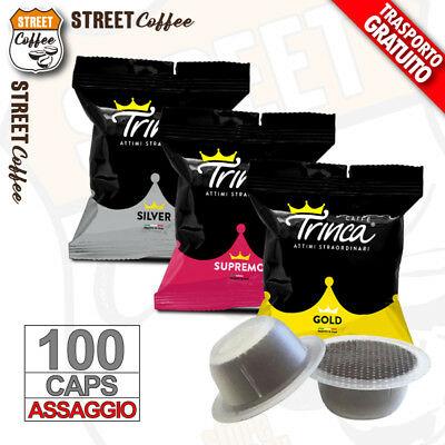 100 capsules Pas de capsules originales Trinca Bialetti MIX Dégustation Dégustation gratuite