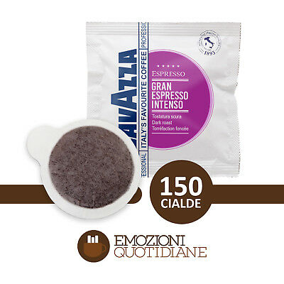 150 Gaufres Café Lavazza Gran Espresso Intense Violet mélange Café ESE 44mm