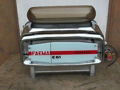 machine à café machine à café FAEMA et 61 2 gr. 1964 RÉVISÉ PRET À UTILISER