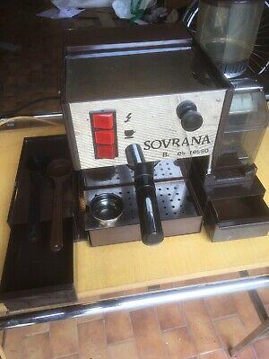 MACHINE À CAFÉ PROFESSIONNELLE LA SOVRANA AVEC MOULIN À CAFÉ