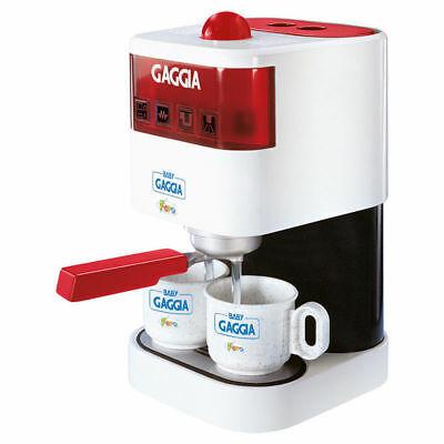 Machine à café pour bébés Gaggia Espresso Bar avec jeu pour enfants à grandes tasses