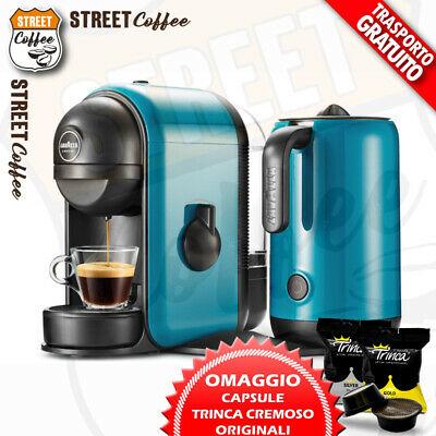 Lavazza Machine A Caffe Red Milk Ou Cyan Cappuccino + Hommage Modo Mio Minu