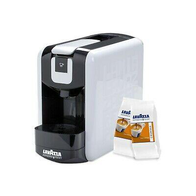 Lavazza EP Kit Point Espresso Mini Machine à Café col. Blanc + 50 Capsules Ex