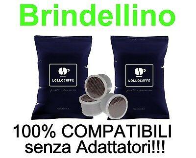 150 Café 75 Capsules Bidose Lollo Black Blend Compatible Lavazza Nims Ecl101