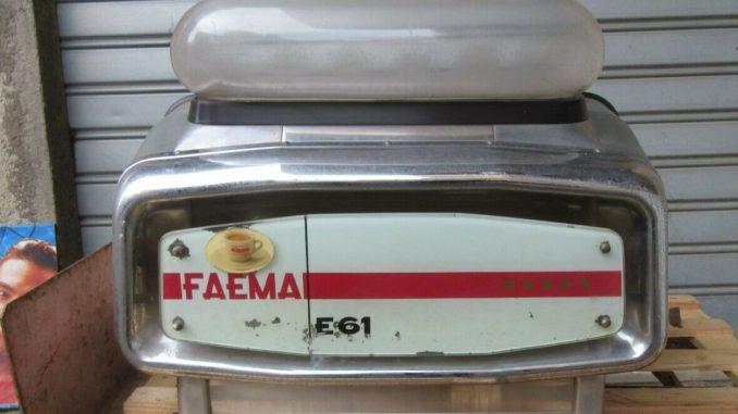 <pre><pre>FAEMA E61 Machine à café 2 groupes et 61 Machine à café Gaggia - 1 000,00 EUR