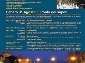 """La magie de """"Il Ponte dei Sapori"""" revient à Montaldo Roero, l'un des événements gastronomiques et viticoles les plus importants de la région de Roero. - Sanremonews.it"""