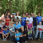 Lariano, centre d'été dédié à l'amitié et à la solidarité au parc Ontanese