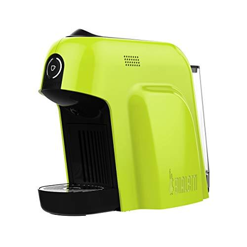 Machine à café Bialetti Smart Espresso pour capsules en aluminium, système Bialetti Caffè d'Italia, 1200 W, Vert