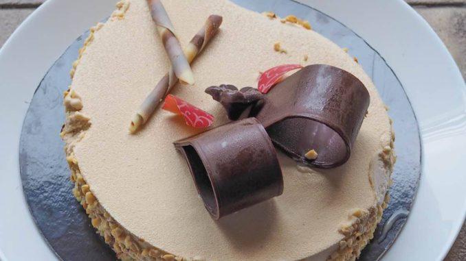 <pre><pre>café semifreddo préparation de la recette de gâteau ingrédients
