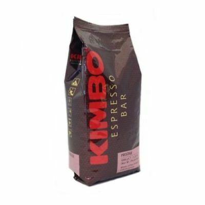 GRAINS DE CAFE DELONGHI KIMBO POUR MACHINES AUTOMATIQUES DELONGHI 1KG PRESTIGE