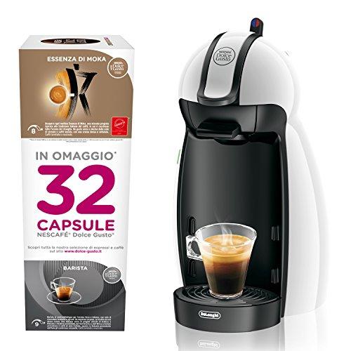 Dolce Gusto EDG100.W Nescafé Petite Machine pour Espresso et Autres Boissons, Blanc