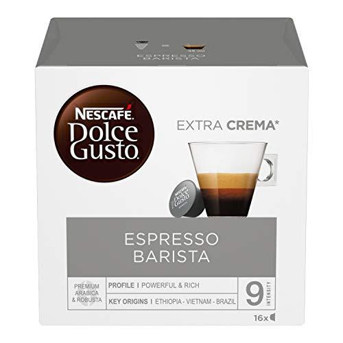 NESCAFÉ Dolce Gusto Barista, Café expresso, 6 emballages de 16 capsules (96 capsules)