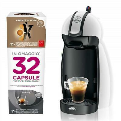Dolcegusto Nescafé, machine à café De Longhi, avec 32 capsules gratuites EDG100W