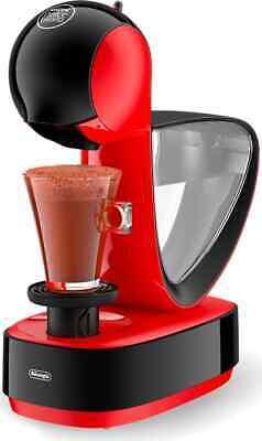 Machine à café automatique De Longhi Capsule Nescafé Dolce Gusto rouge Infinissima