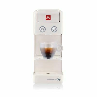 lly iperespresso illy y3.2 machine à café blanche expresso + 14 capsules gratuites
