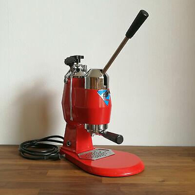 KIM EXPRESS Machine à café expresso électrique Pedretti Bologna avec levier vintage
